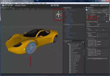 Unity modeling interface